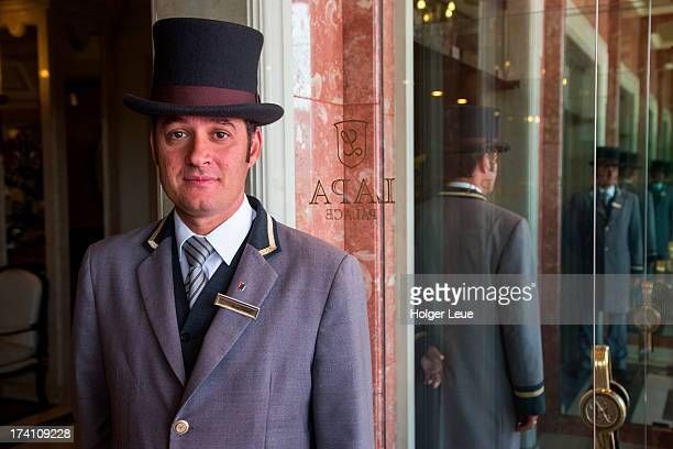 Doorman at Olissippo Lapa Palace hotel