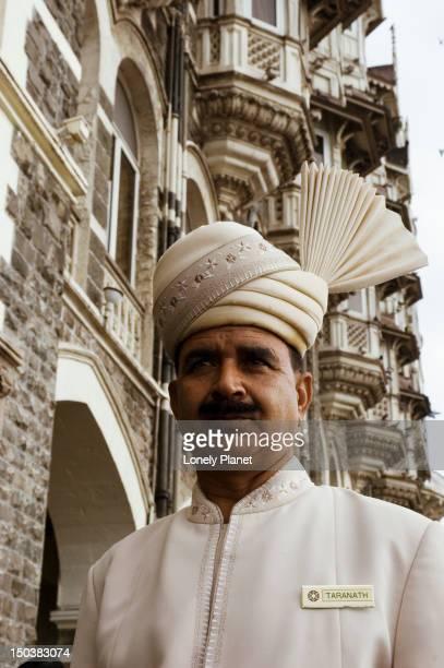 Doorman at Taj Mahal Hotel.