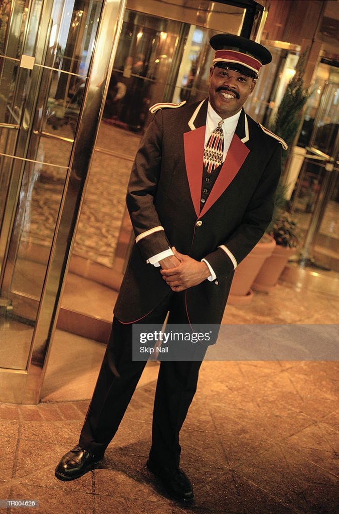 Doorman : Stock Photo