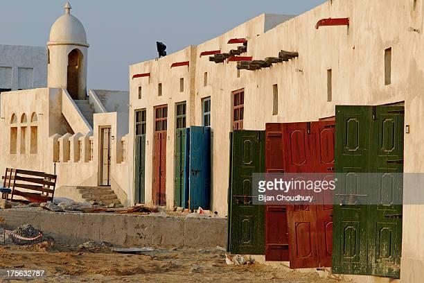 Doors and minaret....