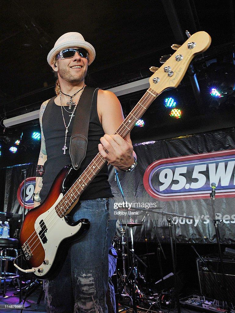 3 Doors Down bassist Tom Harrell attends WPLJu0027s 14th annual Scott u0026 Toddu0027s Summer Blast-  sc 1 st  Getty Images & WPLJu0027s 14th Annual Scott u0026 Toddu0027s Summer Blast-Off Photos and Images ...