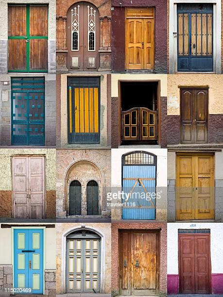 Doors From Cuenca, Ecuador