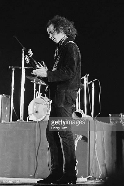 Doors Guitarist Robbie Krieger Performing circa 1970