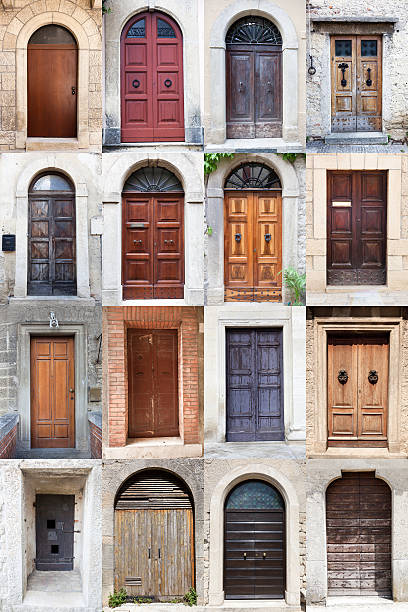 Doors of San Marino Republic