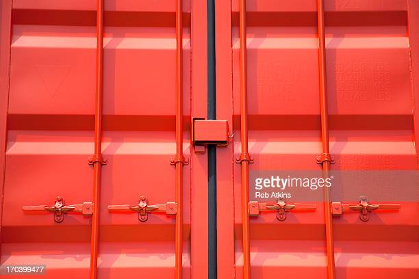 Doors of shipping container
