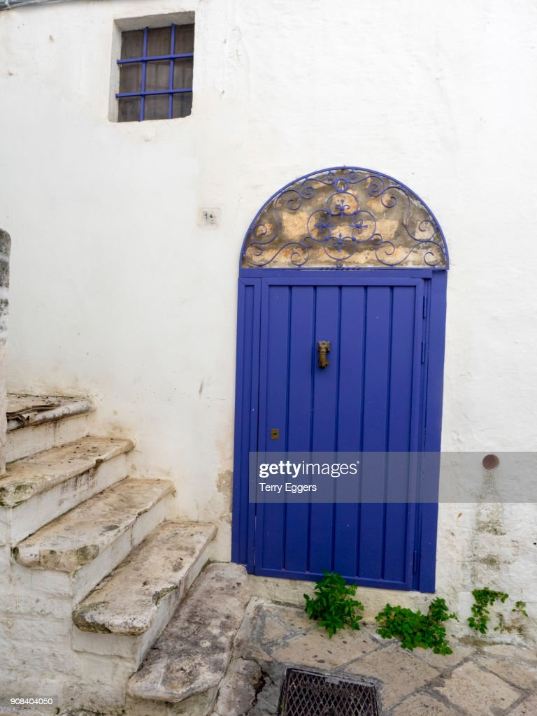 Doors of the old town : Stock Photo
