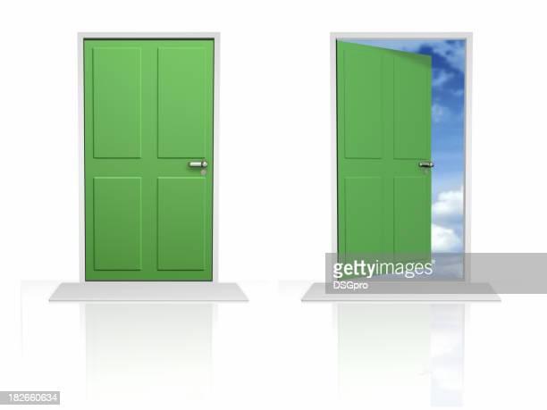 Türen geöffnet und geschlossen