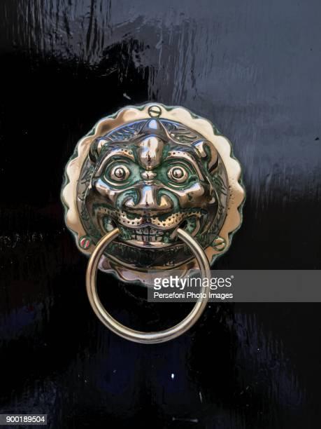 doors - door knocker stock photos and pictures