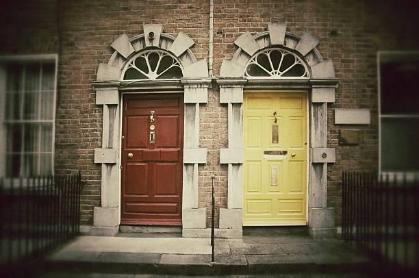Doors. Vintage style