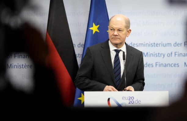 DEU: Doorstep-Statement By Olaf Scholz