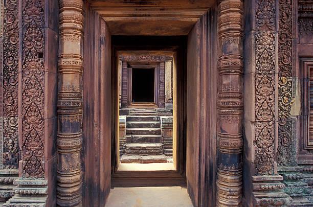 Doorway, Angkor Wat, Cambodia