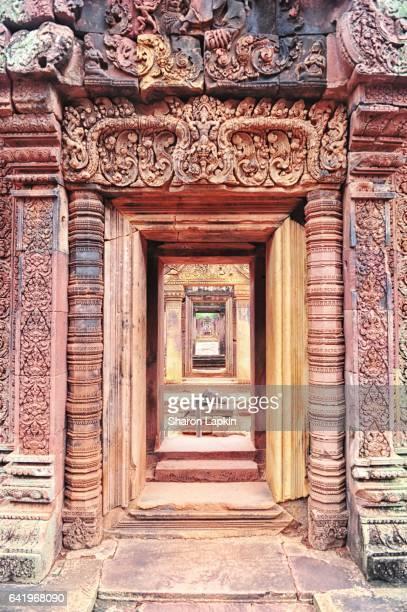 Doorway at Banteay Srei Temple