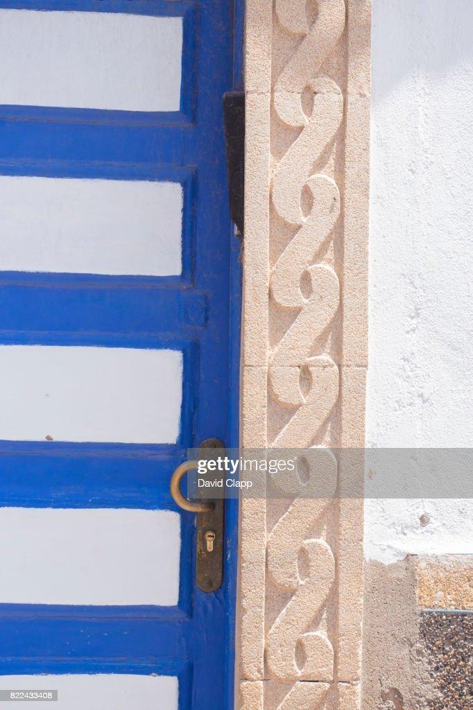 Doorway in Essaouira, Morocco : Stock Photo