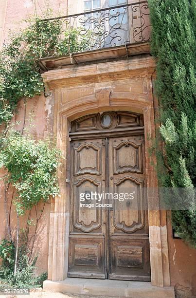 'Doorway in Roussillon, Luberon Mountains'