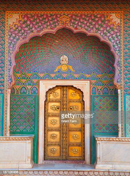 doorway. - palace stock pictures, royalty-free photos & images