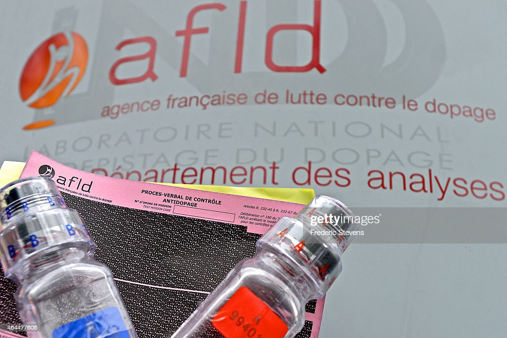 French Anti-Doping Agency Tests National Athletes To Reinforce The Fight Against Doping In Sport : News Photo