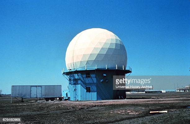 Doppler Weather Radar located in Norman Oklahoma 1970's research using this radar led to NWS NEXRAD WSR88D radar network