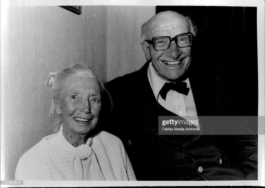 Dora and Bert Birtles at the Home Building Sydney University ...