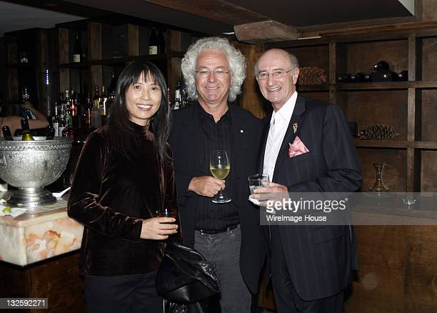 Dora Chen Richard Ivy and Allen Karp during 31st Annual Toronto International Film Festival Board of Directors Cocktail at Nectar in Toronto Canada
