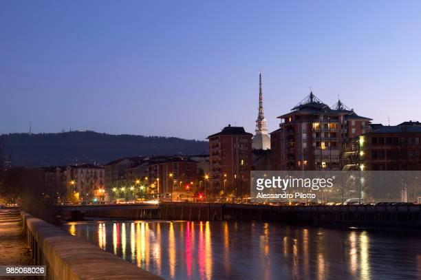 Dora Riparia River in Turin