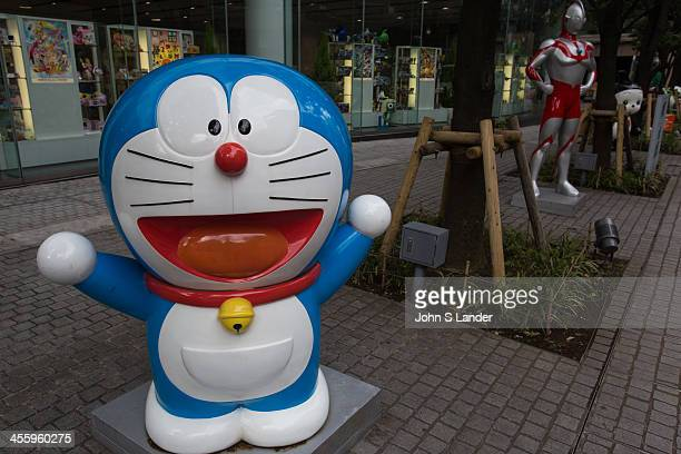 Doraemon is a Japanese manga series created by Fujiko Fujio which became an anime series about a robotic cat named Doraemon who travels back in time...