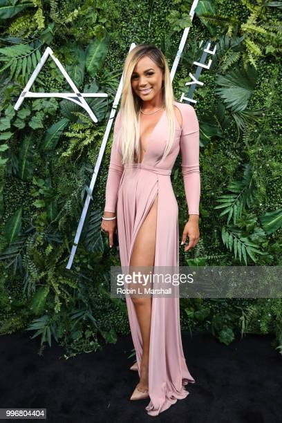 Doralie Medina attends Ashley North's Launch of 'AN STYLE' Candles at IceLink Boutique and Rooftop Lounge on July 11 2018 in West Hollywood California