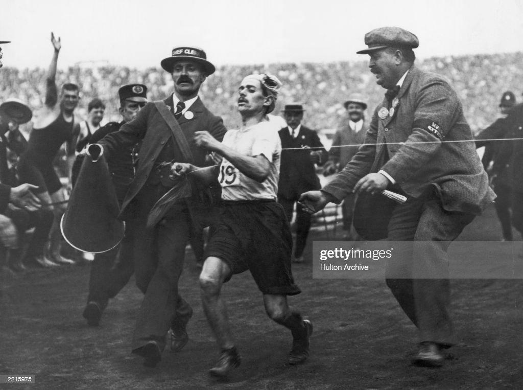 Olympic Marathon : News Photo