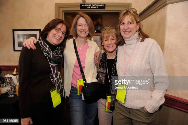 Dorcas Dobie Betsy Lynn Jenny Smith and Jeanne Donovan Fisher attend Board Brunch during the 2010 Sundance Film Festival at Zoom on January 24 2010...