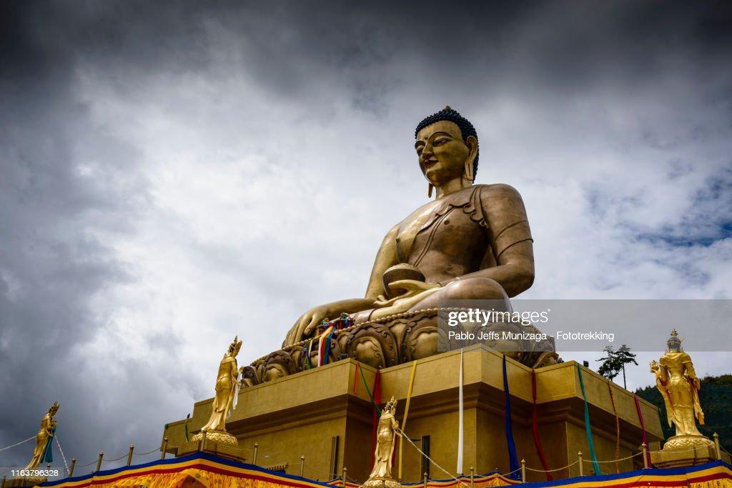 Dordenma Buddha Statue : Stock Photo