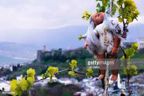 Dordolec evil eye in Southern Albania