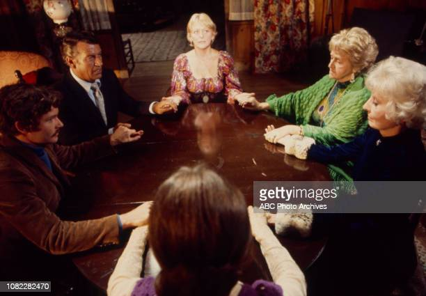 Doreen Lang Mabel Albertson Barbara Stanwyck Kitty Winn Michael Anderson Jr Richard Egan appearing in the Walt Disney Television via Getty Images tv...