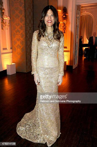 Doreen Remen attends Art Production Fund's White Glove Gone Wild Gala Honoring Carolina Herrera Linda Yablonsky on March 12 2014 in New York City