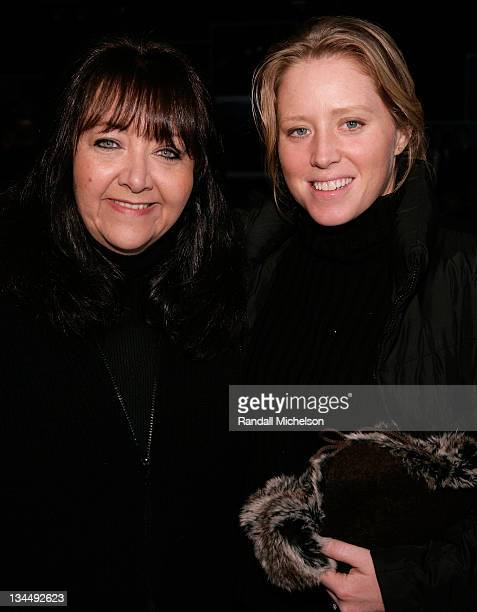 Doreen Ringer Ross and actress Amy Redford attend Music and Film The Creative Process at the Sundance House during the 2008 Sundance Film Festival on...