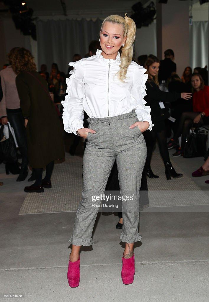 Steinrohner Celebrities - Mercedes-Benz Fashion Week Berlin A/W 2017 : News Photo