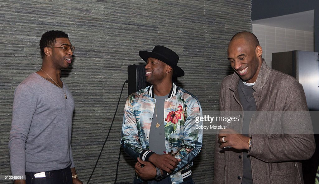 """Dwyane Wade, Chris Paul And Carmelo Anthony Host The Gentlemen's Supper Club """"A Toast To Kobe Bryant"""""""