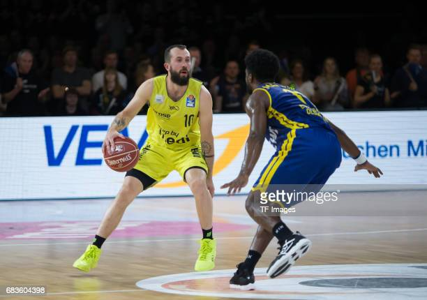 doreth bastian of medi bayreuth in action during the easyCredit BBL match between medi bayreuth and EWE Baskets Oldenburg at Oberfrankenhalle on May...