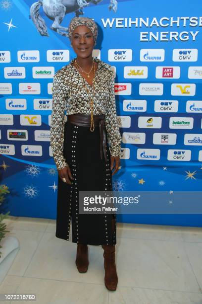 Doretta Carter attends the Energy for Life Christmas gala for Children at Hofburg Vienna on December 12 2018 in Vienna Austria