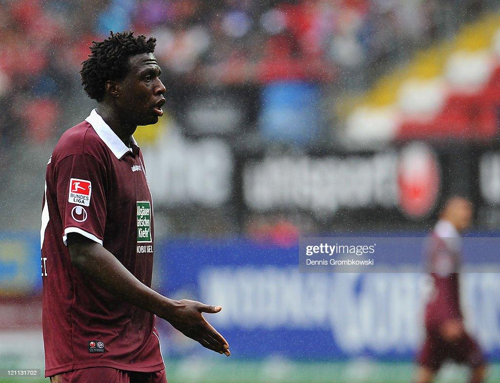 1. FC Kaiserslautern v FC Augsburg  - Bundesliga