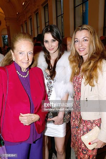 Dori Brynner Deborah Hung and Arabelle ReilleMahdavi attend 'The Glory Of Water' Karl Lagerfeld's Exhibition Preview and Fendi new shop opening party...