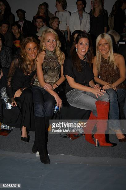 Dori Cooperman Alex Kramer Jessica Meisels and Lizzie Grubman attend OAKLEY Fall 2006 Fashion Show at The Atelier at Bryant Park on February 4 2006...