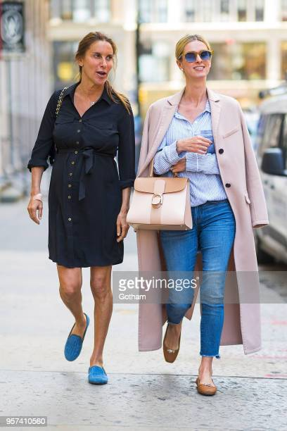 Dori Cooperman and Nicky Hilton are seen in NoHo on May 11 2018 in New York City