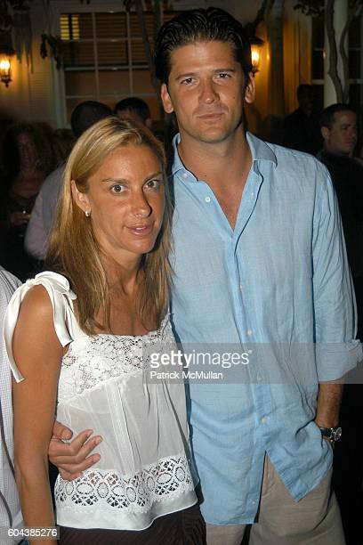 Dori Cooperman and Wayne Boich attend Cocktail Party With Steven Schonfeld Celebrating Mindy Greenblatt's Birthday at Watermill on August 19 2006