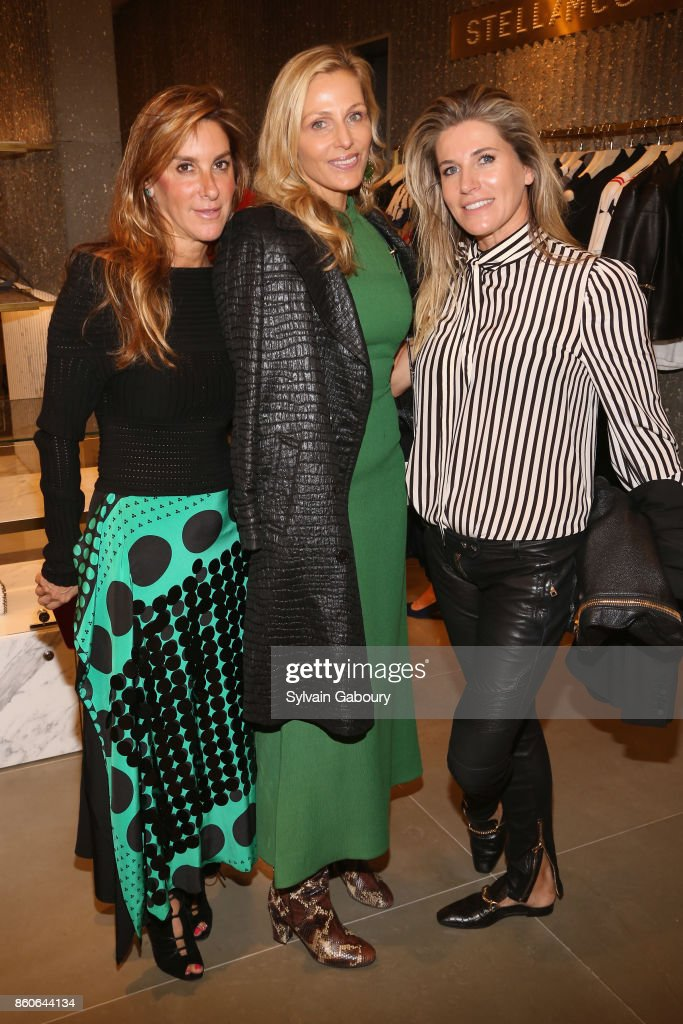 Dori Cooperman, Jamie Tisch and Danielle Oerlemans attend Saks Fifth Avenue Luncheon to Benefit City Harvest at Saks Fifth Avenue on October 12, 2017 in New York City.