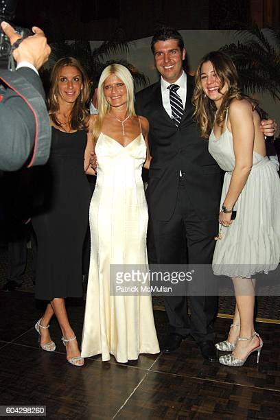Dori Cooperman Lizzie Grubman Chris Stern and Dani Stahl attend LIZZIE GRUBMAN and CHRIS STERN Wedding Reception at Cipriani 42nd on March 18 2006 in...