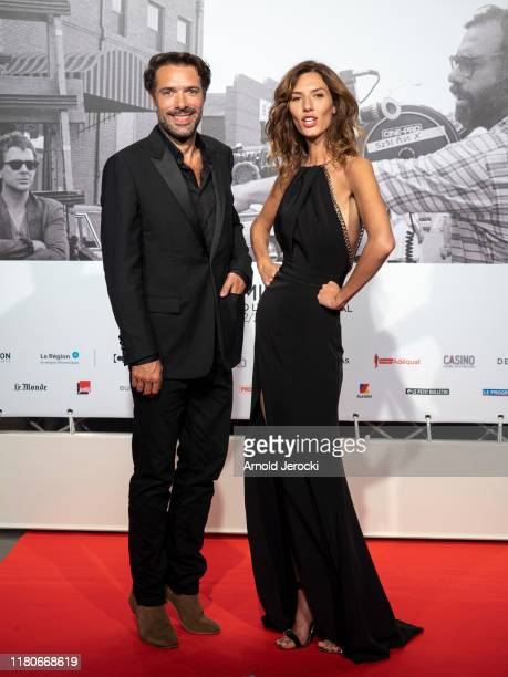 Doria Tillier and Nicolas Bedos attends the Opening Ceremony of the 11th Film Festival Lumiere on October 12 2019 in Lyon France