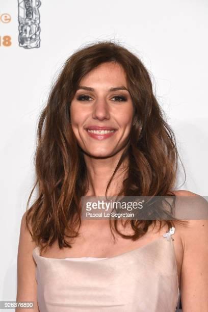 Doria Tillier arrives at the Cesar Film Awards 2018 at Salle Pleyel on March 2 2018 in Paris France