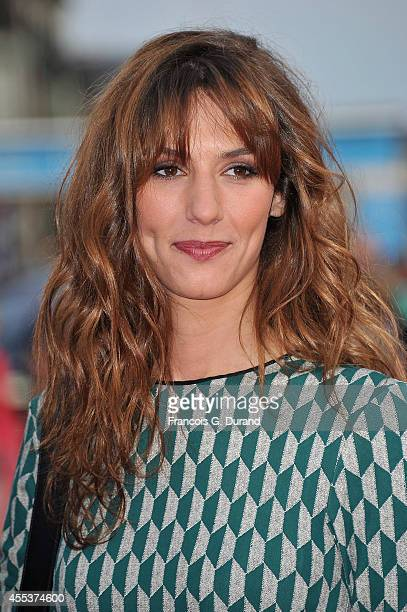 Doria Tillier arrives at the closing ceremony and the 'Sin City A Dame To Kill For' premiere during the 40th Deauville American Film Festival on...