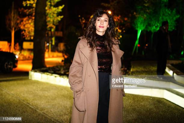 Doria Tillier attends 17th 'Diner De La Mode' To Benefit Sidaction At Pavillon d'Armenonville as part of Paris Fashion Week on on January 24 2019 in...