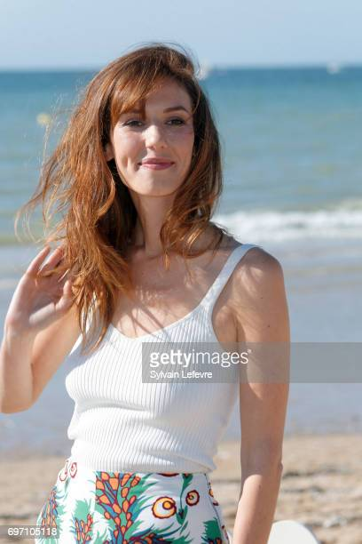Doria Tillier attends 'Monsieur et Madame Adelman' photocall during 4th day of 31st Cabourg Film Festival on June 17 2017 in Cabourg France