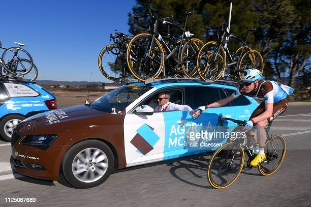 Dorian Godon of France and Team AG2R La Mondiale / Car / Feed Zone / during the 4th Tour de La Provence 2019 Stage 2 a 1956km race from Istres to La...
